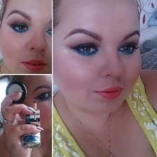 Propozycja mocnego makijażu, raczej na wieczorne wyjście niż na codzień ;) Ta...