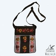 Skórzana torebka z kieszonką