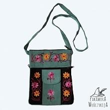 Piękna skórzana torebka na ...