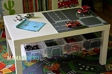 pomysł na stolik Lego