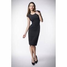 Klasyczna mała czarna sukienka KM86