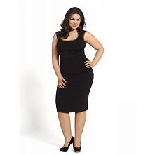 Czarna elegancka sukienka KM13