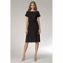Czarna sukienka na co dzień S13