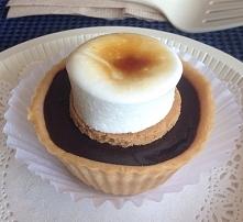 Babeczki z czekoladą i marshmallow ^_^