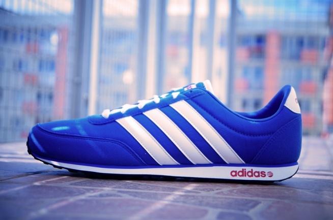adidas neo label niebieskie