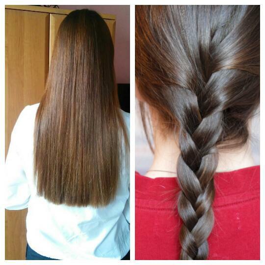 hm.. od dawna spotykam się z różnymi opiniami na temat Czy włosy na noc powinnyśmy wiązać czy zostawić rozpuszczone. Jedni twierdzą, że niszczą się bardziej włosy rozpuszczone (ocierają się o pościel itd) inni , że spinanie włosów bardziej szkodzi (nie pozwala to na oddychanie włosów, przyczynia się to między innymi do ich wypadania). Od dłuższego czasu spinam włosy na noc, oczywiście lekko, gumkami delikatnymi, bez metalu. Raz robie warkocz raz kucyk .. zauważyłam, że stan moich włosów trochę się pogorszył.. nie prostuje, nie susze ich ;/ Fryzjerka powiedziała mi ostatnio żebym unikała spinania włosów bo to im szkodzi i sprawia , że rozdwajają się w połowie ;/ Mam włosy podobnej długości jak na zdjęciu nr 1. (Zdjęcia z internetu) Jestem ciekawa jak to jest u was dziewczyny? ;)
