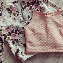 Bluza Vintage Rose i mini top