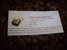 Czekoladowe Brownies :D Pyszne