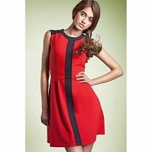 Czerwona sukienka S27