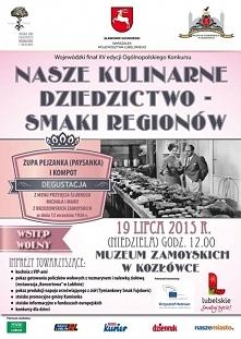 bezpłatna impreza kulinarna w Kozłówce , może być smacznie ;)