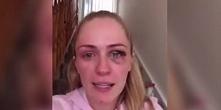 Blogerka nagrała filmik, w którym opowiada o pobiciu przez chłopaka i przestr...