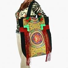 Etniczna torebka. Świetna torebka w stylu orientalnym.  Oryginalna i niepowta...