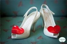 Ślubne buty...od serca