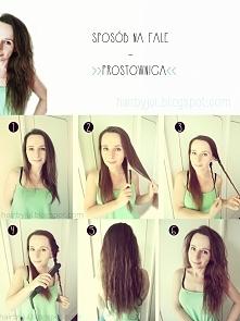 letnie fale krok po kroku, hair tutorial