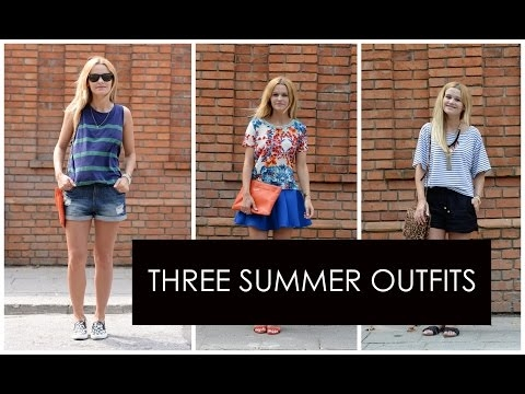 Three Summer Outfits | loveandgreatshoes