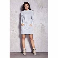 Sukienka z kapturem M023