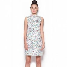 Elegancka sukienka w kwiaty 300