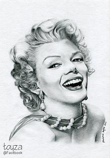 Portret Marilyn Monroe wyko...