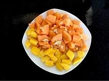 mango i melon... taki sobie podwieczorek