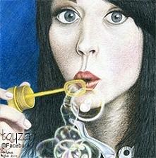 Portret Katy Perry wykonany...