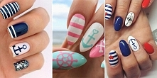 Marynarski manicure