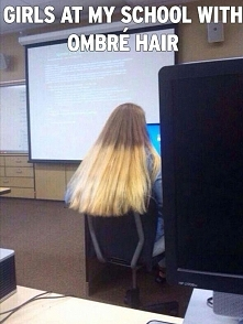 BAD/HAIR/OMBRE