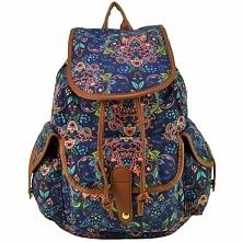 Plecak z ciekawym wzorem kw...