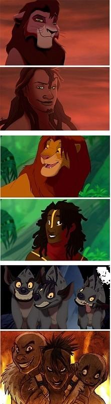 Postacie Disneya i ich ludzkie odpowiedniki