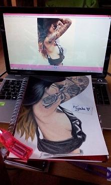 Dziewczyna z tatuażem :)
