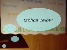 jak zrobić tablicę motywacji i po co? :) Klik.