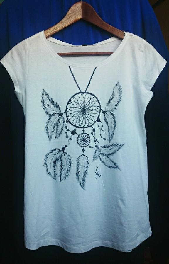 Ręcznie malowane koszulki ;) ktoś chętny?