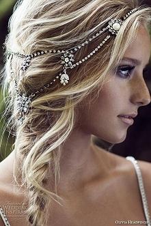 ślubna ozdoba do włosów:)