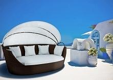 Sofa Portofino - iCasa - Modern brązowa