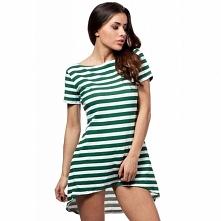 MOE164 Sukienka zielona