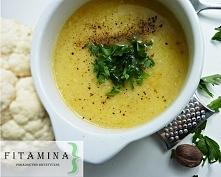 Warzywna zupa krem z mleczkiem kokosowym