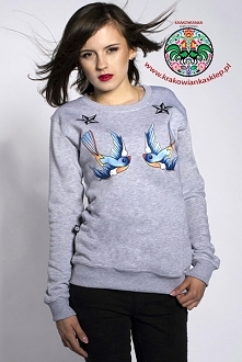 """bluza """"stars and sparrows"""""""