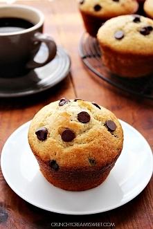 Pyszne muffinki z czekolada