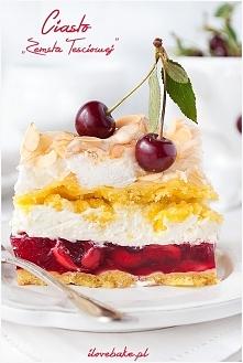 CIASTO ZEMSTA TEŚCIOWEJ SKŁADNIKI NA KRUCHE CIASTO:     3 szklanki mąki torto...
