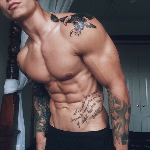 Tatuaże Taka Sylwetka Na Chłopaki Do Schrupaniaaaaa