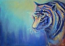 tygrysek mojego  autorstwa ...