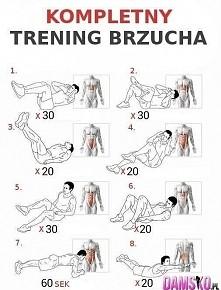 Kompletny trening brzucha