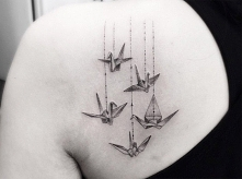 Witam, mam w planie wytatuowanie tego cuda. Co myslicie o tym tatoo?