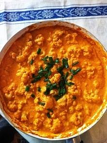 Curry z kalafiorem :) Do wypróbowania
