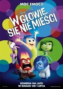 W głowie się nie mieści - bajka Disney Pixar, komedia dla całej rodziny.