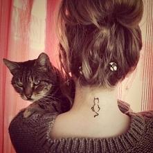 tatuaż kotek