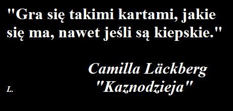 """KAZNODZIEJA"" - Camilla Läckberg"