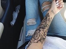 tatuaż na ręce genialny <3