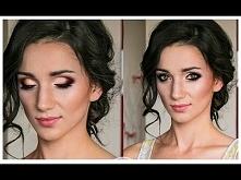 MAKIJAŻ ŚLUBNY - DLA ZIELONOOKICH - mocny makijaż ślubny