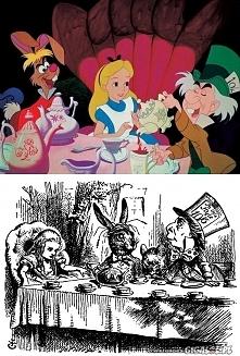 Mroczne korzenie disneyowskich bajek - Alicja w Krainie Czarów  Lewis Carroll...