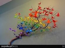 drzewo z origami *.*